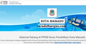 Jadwal Pendaftaran PPDB SMA SMK Negeri Manado 2020/2021