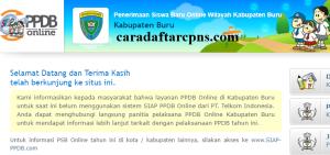Jadwal PPDB SMA SMK Negeri Kab Buru 2020 2021