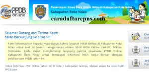 Jadwal PPDB SMA SMK Negeri Kab Rote Ndao 2020 2021