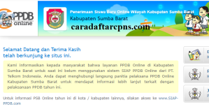 PPDB SMP Kabupaten Sumba Barat
