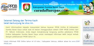 PPDB SMP Kabupaten Sumba Barat Daya