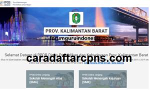 Pendaftaran PPDB Online SMA Provinsi Kalimantan Barat 2019 2020