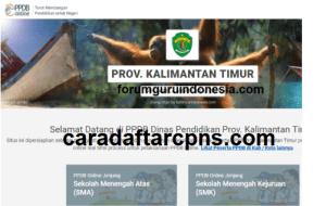 Pendaftaran PPDB Online SMA Provinsi Kalimantan Timur 2019 2020