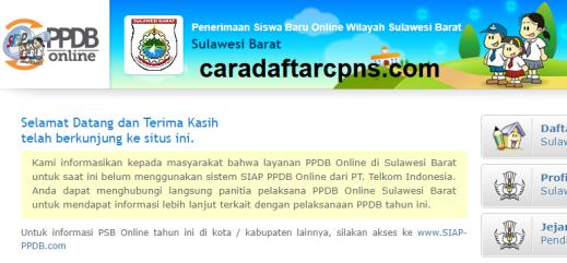 Jadwal Pendaftaran PPDB SMA SMK Negeri Provinsi Sulawesi Barat 2021