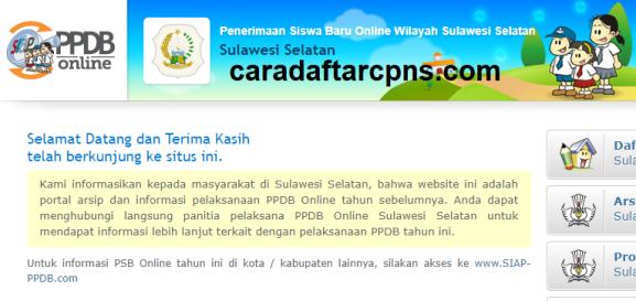 Jadwal Pendaftaran PPDB SMA SMK Negeri Provinsi Sulawesi Selatan 2021