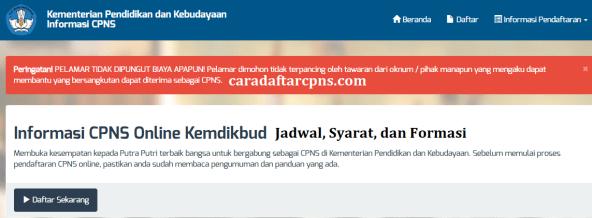 Hasil Seleksi Administrasi CPNS Kemendikbudristek 2021
