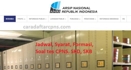 Jadwal dan syarat pendaftaran CPNS ANRI 2021