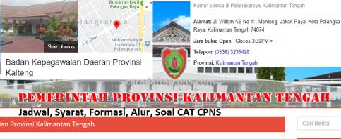 Hasil Seleksi Administrasi CPNS Pemprov Kalteng 2021