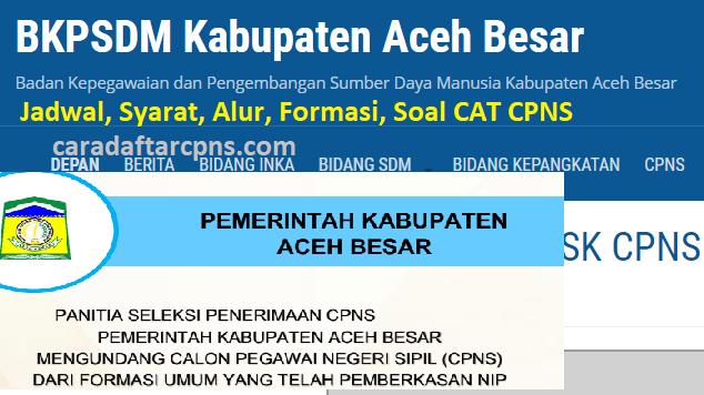 Jadwal Dan Lokasi Skd Cpns Kab Aceh 2019 2020 Soal Skd Skb