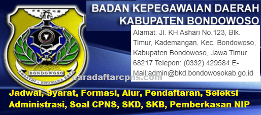 Jadwal Pendaftaran CPNS Kabupaten Bondowoso 2021 Lulusan ...