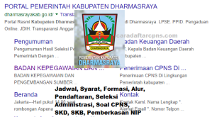 Jadwal SKB CPNS Kabupaten Dharmasraya 2019 2020