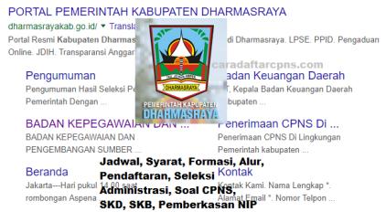 Pengumuman CPNS Kabupaten Dharmasraya 2021 Lulusan SMA SMK D3 S1 S2