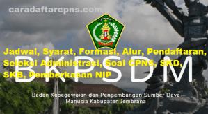 Jadwal Pendaftaran CPNS Kabupaten Jembrana 2021 Lulusan SMA SMK D3 S1 S2