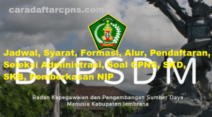 Jadwal SKB CPNS Kabupaten Jembrana 2019 2020