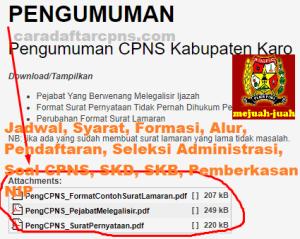 Jadwal SKB CPNS Kabupaten Karo 2019 2020