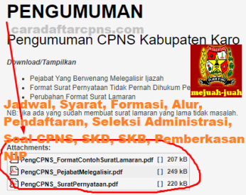 Jadwal Pendaftaran CPNS Kabupaten Karo 2021 Lulusan SMA SMK D3 S1 S2