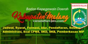 Jadwal Pendaftaran CPNS Kabupaten Malang 2021 Lulusan SMA SMK D3 S1 S2