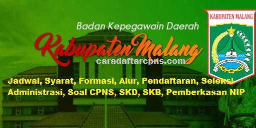 Pengumuman Hasil SKD CPNS KABUPATEN MALANG 2021