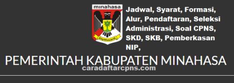 Pengumuman CPNS Kabupaten Minahasa 2021 Lulusan SMA SMK D3 S1 S2
