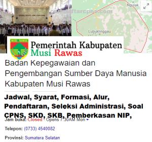 Jadwal SKB CPNS Kabupaten Musi Rawas 2019 2020