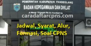 Jadwal Pendaftaran CPNS Kabupaten Pandeglang 2021 Lulusan SMA SMK D3 S1 S2