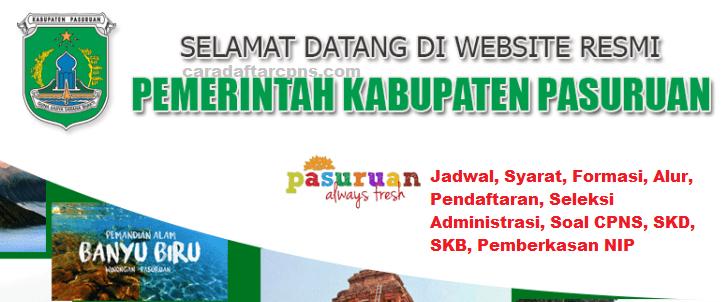 Pengumuman Hasil Seleksi Administrasi Cpns Kab Pasuruan 2019