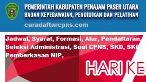 Pengumuman Hasil SKB CPNS Kabupaten Penajam Formasi 2019