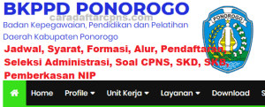 CPNS 2019 Kab Ponorogo