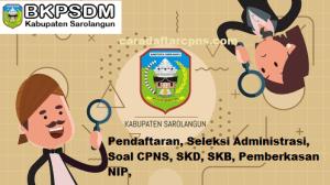 Pengumuman Hasil SKB CPNS Kabupaten Sarolangun Formasi 2019
