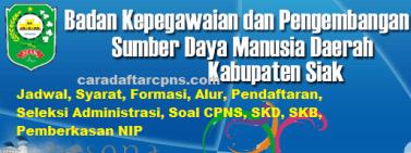 Pengumuman CPNS Kabupaten Siak 2021 Lulusan SMA SMK D3 S1 S2