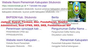 Jadwal SKB CPNS Kabupaten Situbondo 2019 2020