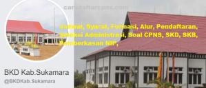 Jadwal SKB CPNS Kabupaten Sukamara 2019 2020