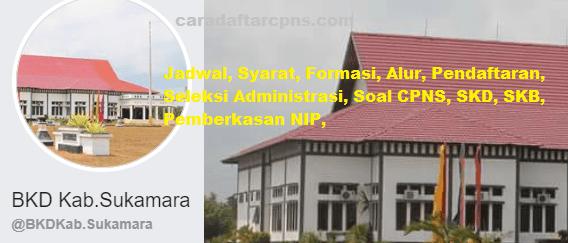 Pengumuman CPNS Kabupaten Sukamara 2021 Lulusan SMA SMK D3 S1 S2