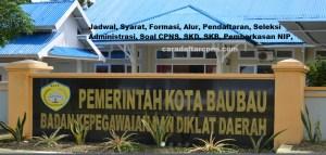 Jadwal Pendaftaran CPNS Kota Baubau 2021 Lulusan SMA SMK D3 S1 S2