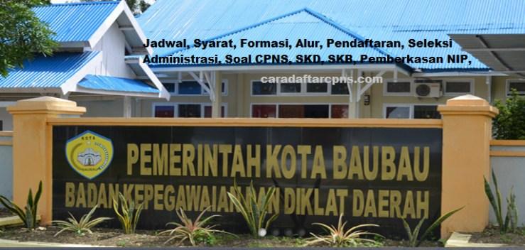 Hasil Seleksi Administrasi CPNS Pemkot Baubau 2021