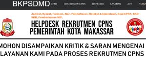 Pengumuman Hasil SKB CPNS Kota Makassar Formasi 2019