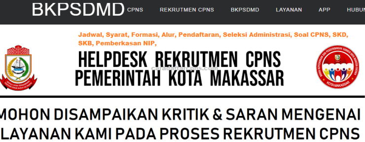 Hasil Seleksi Administrasi CPNS Pemkot Makassar 2021