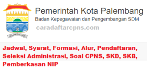 Pengumuman Hasil SKB CPNS Pemkot Palembang Formasi 2019