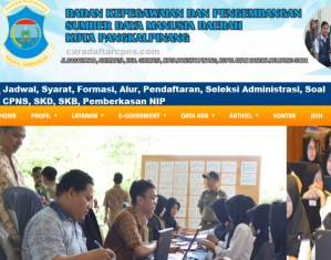 Jadwal Pendaftaran CPNS Kota Pangkalpinang 2021 Lulusan SMA SMK D3 S1 S2
