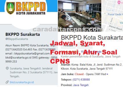 Pengumuman Hasil SKD CPNS PEMKOT SURAKARTA 2021