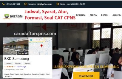 Pengumuman Hasil SKD CPNS KABUPATEN SUMEDANG 2021