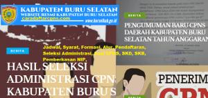 Jadwal dan Lokasi SKD CPNS Kab Buru 2019 2020