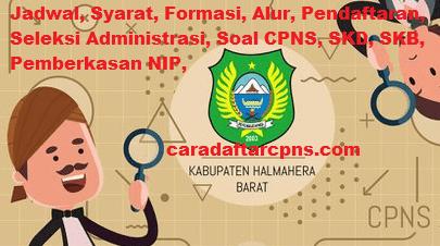 Pengumuman Hasil Akhir CPNS Kabupaten Halmahera Barat Formasi 2019