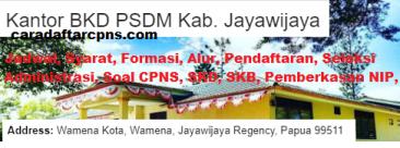 Pengumuman CPNS Kabupaten Jayawijaya 2021 Lulusan SMA SMK D3 S1 S2