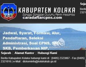 Jadwal SKB CPNS Kabupaten Kolaka 2019 2020