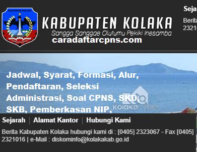 Pengumuman CPNS Kabupaten Kolaka 2021 Lulusan SMA SMK D3 S1 S2