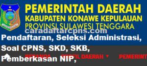 CPNS 2019 Kabupaten Konawe Kepulauan