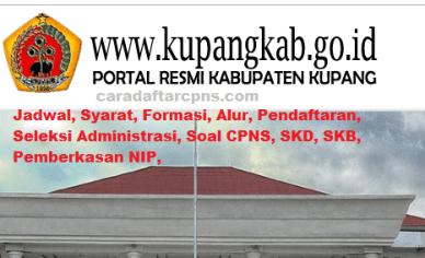 Pengumuman CPNS Kabupaten Kupang 2021 Lulusan SMA SMK D3 S1 S2