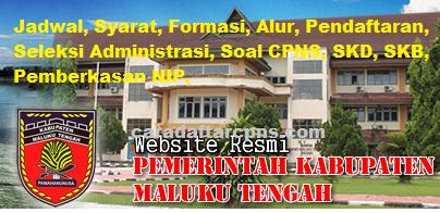 Pengumuman CPNS Kabupaten Maluku Tengah 2021 Lulusan SMA SMK D3 S1 S2