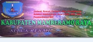 Pengumuman Hasil Seleksi CPNS Kabupaten Mamberamo Raya Formasi 2018